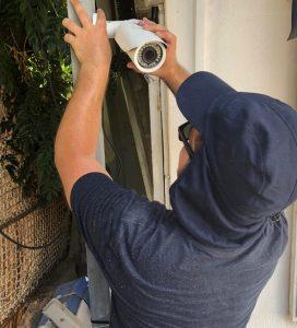 מצלמות אבטחה במאיה חניונים